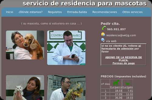 guardería y residencia para mascotas