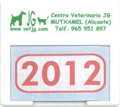 ya tenemos los calendarios JG 2012 para coche